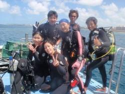 沖縄近海ダイビング